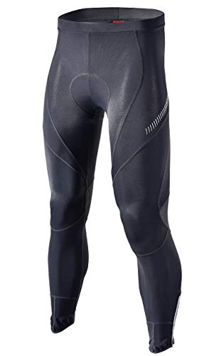 RION CYCLING Men's Bike Pants Long Padded - Cycling Pants