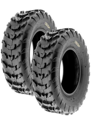 Set of 2 SunF A006-22x10-10 - ATV/UTV Utility Off-Road Tires, 6 PR
