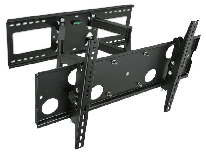 Corner TV Wall Mount Bracket Tilts, Swivels, Extends - Corner TV Wall Mounts