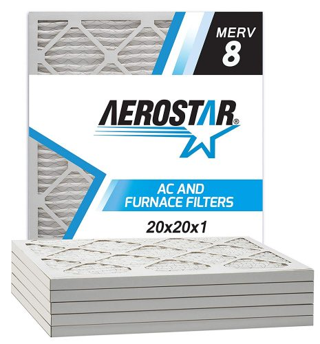 Aerostar Pleated Air Filter, MERV 8 - AC Filters