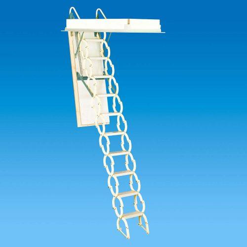 """Rainbow M2236 22-1/2""""L x 36"""" W Prestige Telescoping Attic Ladder - Attic Ladders"""