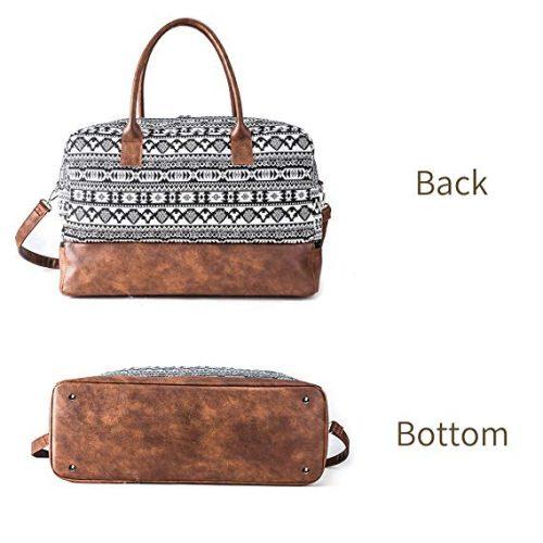 MyMealivos Canvas Weekender Bag - Weekender Bags For Women