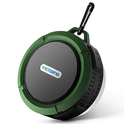 VicTsing Shower Speaker, Wireless Waterproof Speaker - Shower Speakers