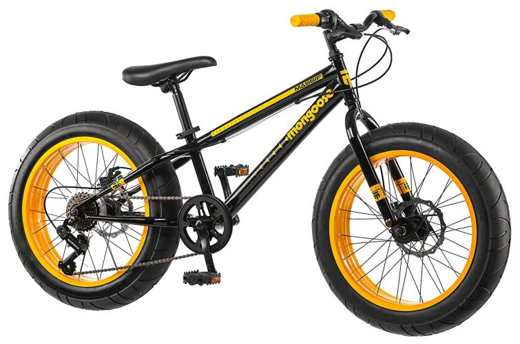 "Mongoose Massif Boy's 20"" Fat Tire Bike"