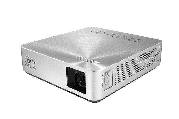 ASUS S1 200 lumen HDMI/MHL Built-in 6,000mAh Battery Power Bank Short-Throw LED Pocket Projector