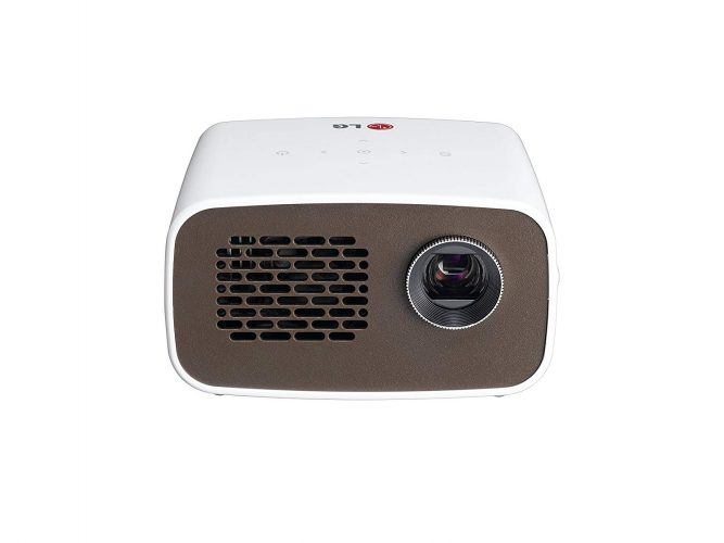 LG Electronics PH300 LED Minibeam Projector with Embedded Battery and Built-in Digital TV Tuner