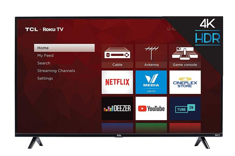 TCL 50S425 50 inch 4K Smart LED Roku TV (2020)