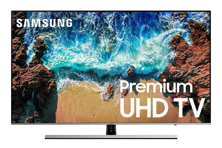 "Samsung UN65NU8000FXZA Flat 65"" 4K UHD 8 Series Smart LED TV (2018)"