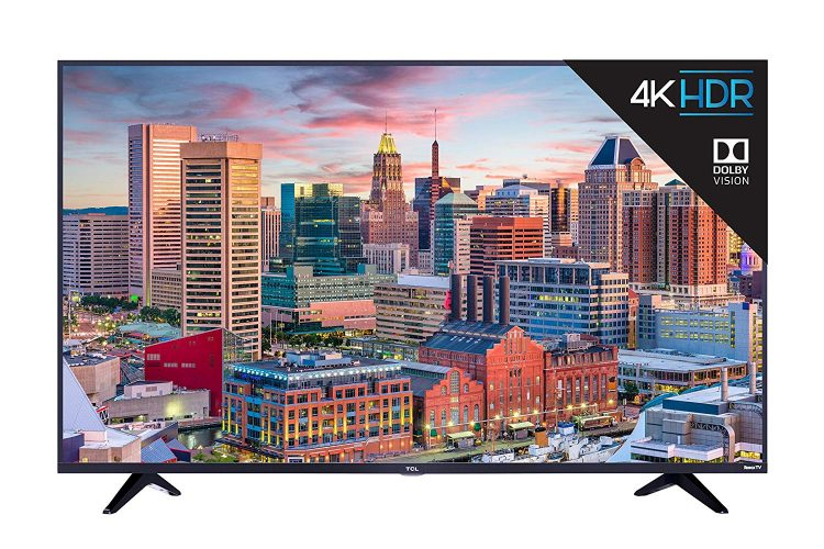 TCL 65S517 65-Inch 4K Ultra HD Roku Smart LED TV (2018 Model)