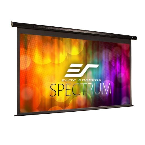 Elite Screens Spectrum, 100-inch Diag 16:9, Electric Motorized 4K/8K Ready Drop Down Projector Screen, ELECTRIC100H