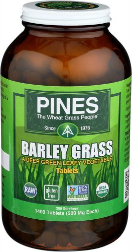 Premium Organic Barley Grass Juice Powder| 8 Ounce Green Superfood Chlorophyll Powder- USDA Organic - Gluten Free, Non-GMO - Rich Source of Antioxidants, Protein & Amino Acids- Bulk Pack (226 Grams)
