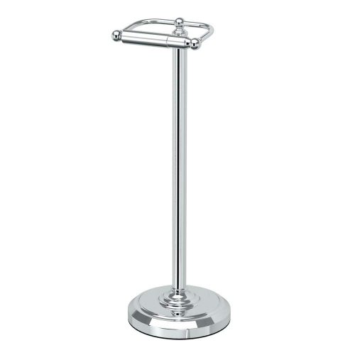 Gatco 1436C Pedestal Toilet Paper Holder, Chrome