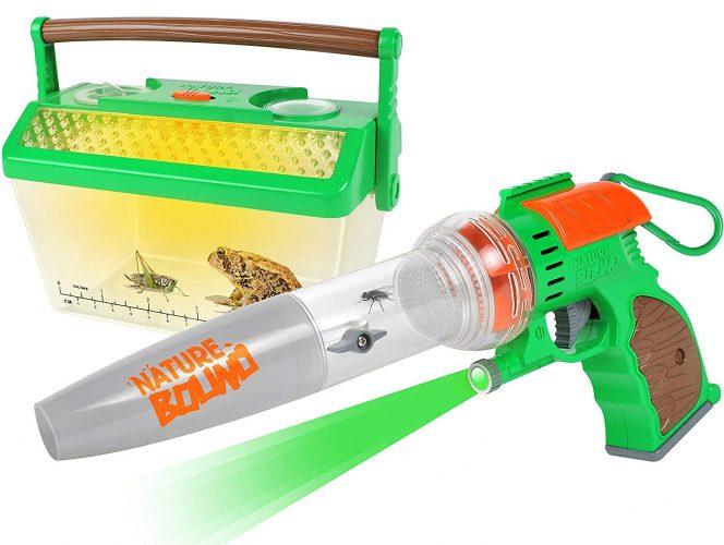 Nature Bound Bug Catcher Vacuum Light Up Critter Habitat Case Backyard Exploration - Complete kit Kids