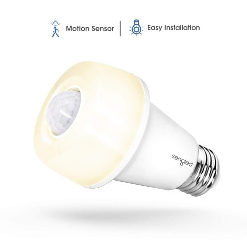 Sengled LED with Motion Sensor (Smartsense), Soft White 2700K, A19 60W Equivalent, Indoor Use, 1 Pack