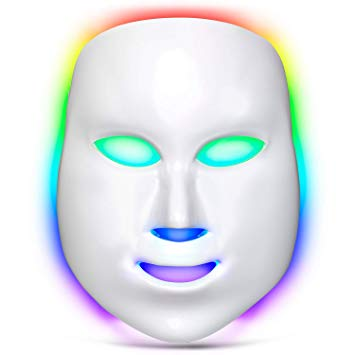 Lacomri 7 Color LED Light Therapy Acne Mask