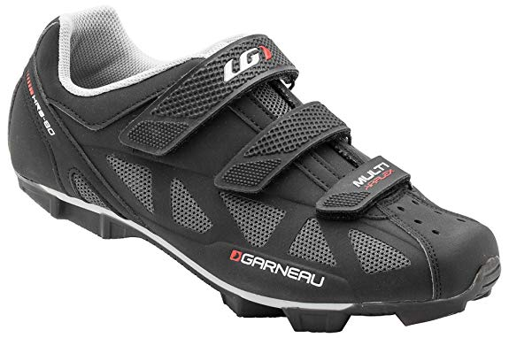 Louis Garneau Men's Multi Air Flex Bike Shoes, Black, US (5), EU (38)