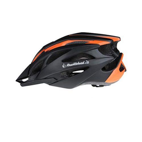 MOON Cycling Helmet, Ultralight Bicycle Helmet, in-Mold Lightweight Bike Helmet for Road Mountain Biking Racing, Safety Protect Sport Helmet - Black & Orange
