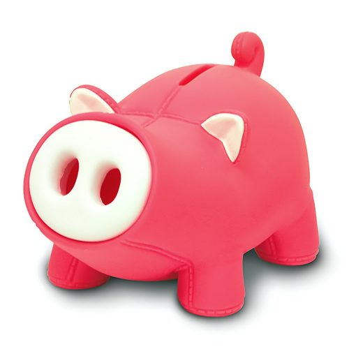 Cute Pig Piggy Bank, Lovely Pig Bank Toy Coin Bank Decorative Saving Bank Money Bank Adorable Pig Figurine for Boy Girl Baby Kid Child Adult Pig Lover by DomeStar