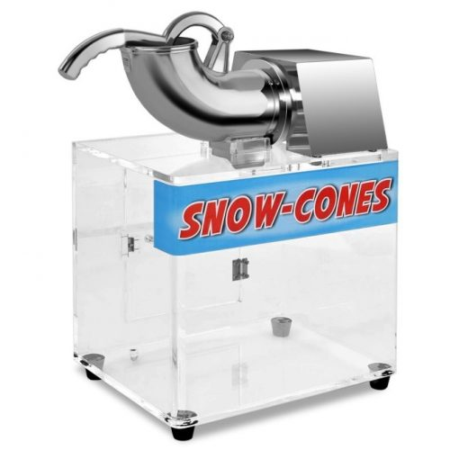 Costzon Electric Stainless Steel Ice Shaver Machine Crusher Snow Cone Maker, 440lbs/hr