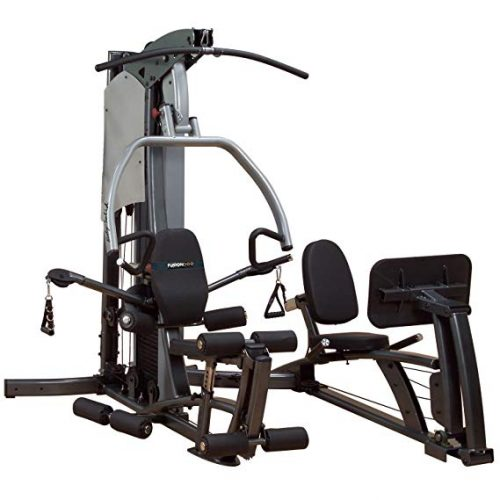 Body-Solid Fusion F500-FLP Home Gym with Leg Press/310 lb stack
