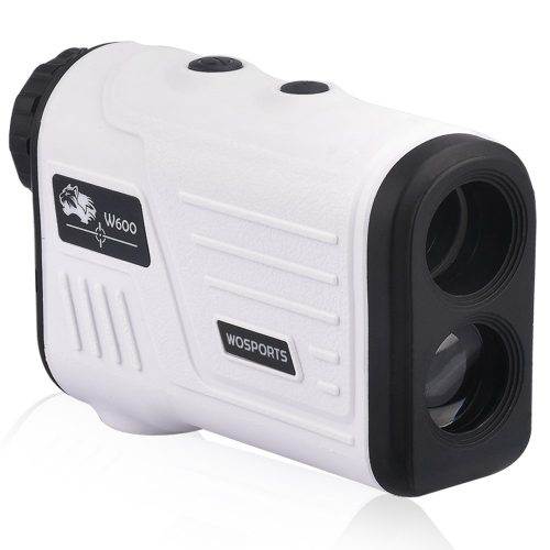 Wosports Golf Rangefinder, Laser Range Finder with Slope, Golf Trajectory Mode, Flag-Lock and Distance/Speed/Angle Measurement - Golf Scope