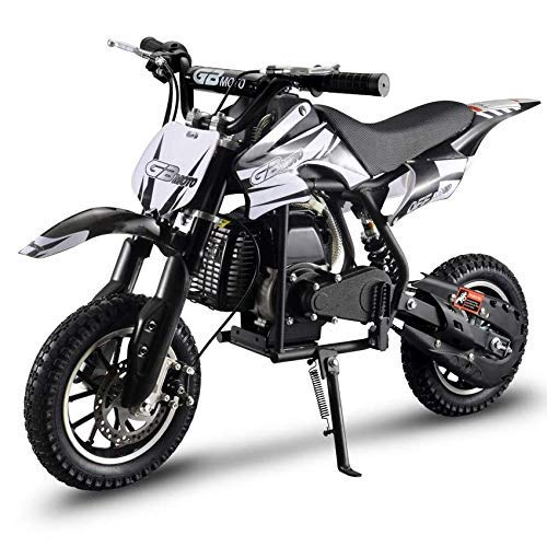 V-Fire 2-Stroke 49cc Dirt Bike Mini Gas Motorcycle Kids Motorcycle Childrens Dirt Bike Kids Dirt Bike 49cc Mini Dirt Bike Gas Mini Motorcycle (EPA Registered)