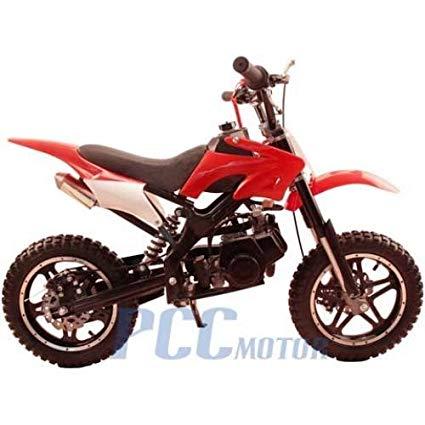 48L 49CC 2 STROKE MINI BIKE GAS MOTOR DIRT POCKET BIKE RED I DB50X