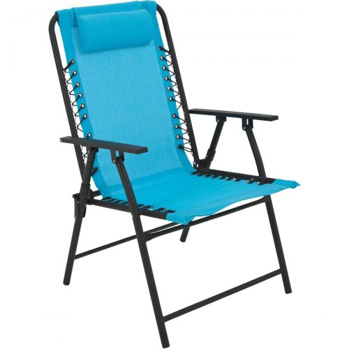 Sim Supply, Inc. Outdoor Expressions Bungee Sling Folding Lawn Chair