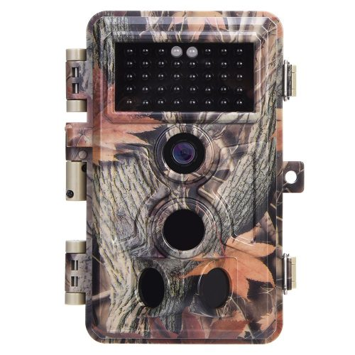Trail Camera 16MP 1080P No Glow Night Vision, Game Camera