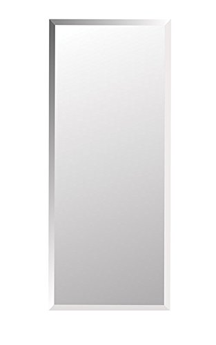 """Jensen 868P34WHGX Bevel Mirror Medicine Cabinet, 16"""" x 36"""""""