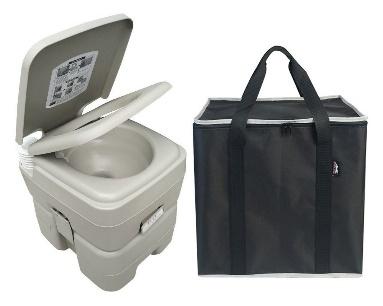 Leopard Outdoor Flush Portable Travel Toilet