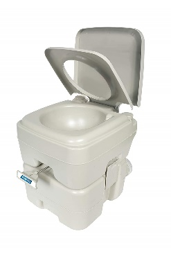 Camco Standard Portable Toilet, Designed for Camping And Other Recreational Activities (41541)