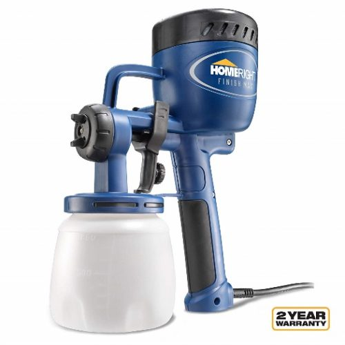 Home Right Finish Spray Gun for Painting Projects, Blue