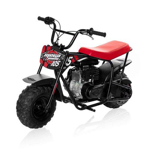 Mega Moto - Gas Mini Bike - 105CC/3.5HP Without Suspension (MM-B105-RB)(Red)