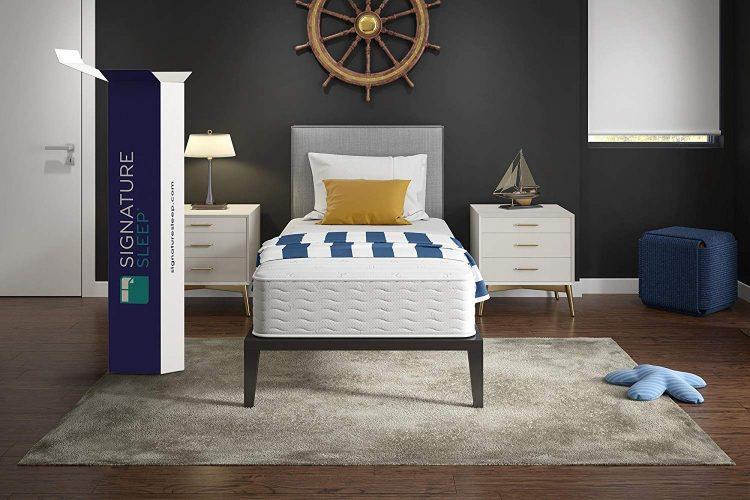Signature Sleep Mattress, 10 Inch Coil Mattress, Twin Mattresses