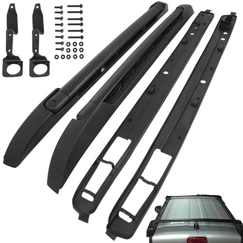 Bestauto Cross Bar Roof Rack Cross Bars Fit for 2005-2018 Toyota Tacoma Double Cab Style Roof Rack Set