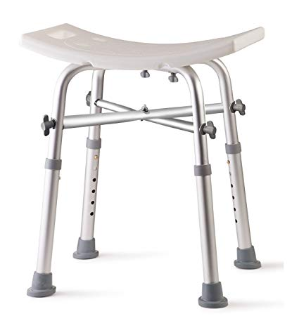 Dr. Kay's Adjustable Height Bath and Shower Chair Top Rated Shower Bench