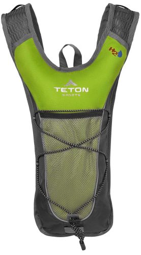 TETON Sports TrailRunner 2.0 Hydration Pack; Free 2-Liter Hydration Bladder; For Backpacking, Hiking, Running, Cycling, and Climbing