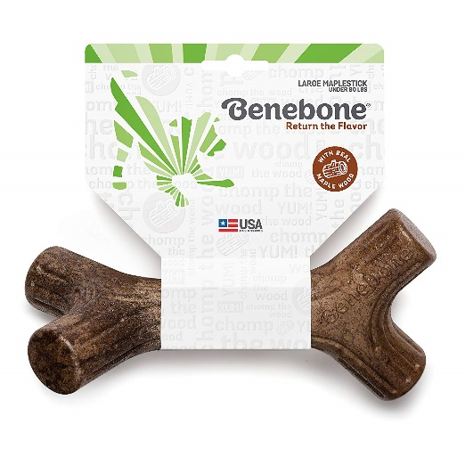 Benebone Maplestick Real Wood Durable Dog Stick Chew Toy, Made in USA
