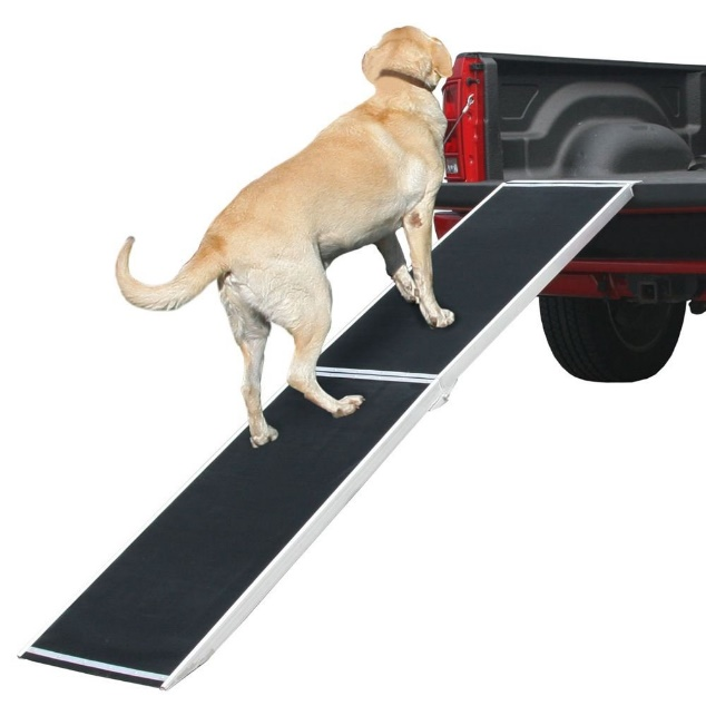 "Rage Powersports DR-06XW 72"" Lightweight Extra Wide Folding Aluminum Pet Ramp"