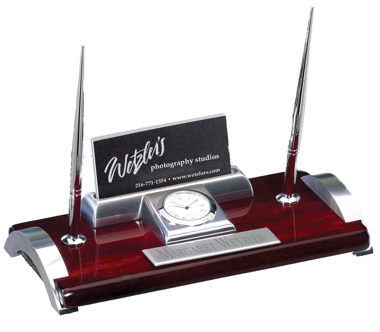 Hit Trophy Desk Pen Set with Free Engraving