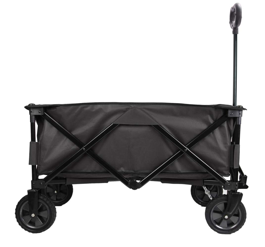 Patio Watcher Collapsible Folding Wagon Utility Wagon Cart