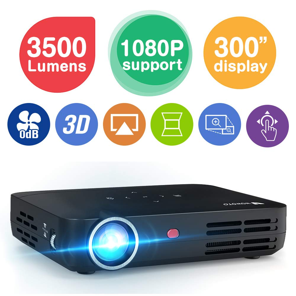 WOWOTO H8 3500 Lumens Projector