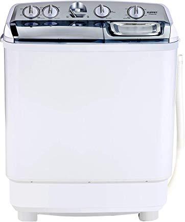 KUPPET Compact Twin Tub Portable Mini Washing Machine 21lbs Capacity - cheap washing machines