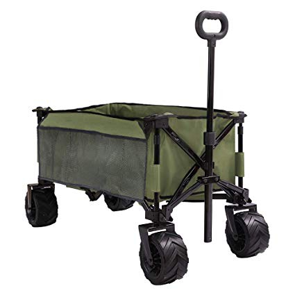 PATIO GUARDER Folding Collapsible Wagon Cart