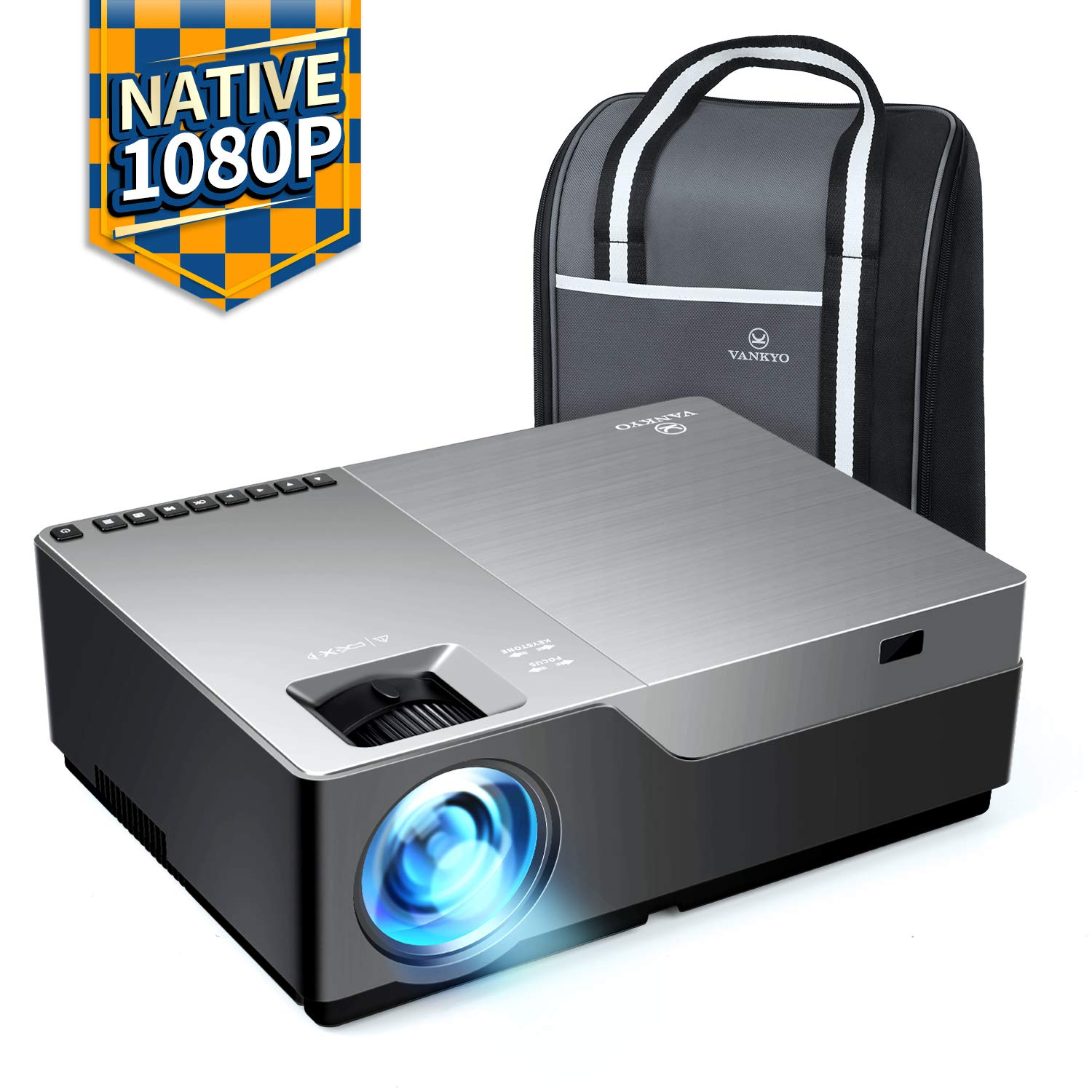 VANKYO Performance V600 Native 1080P LED Projector - Projectors for Conference Room