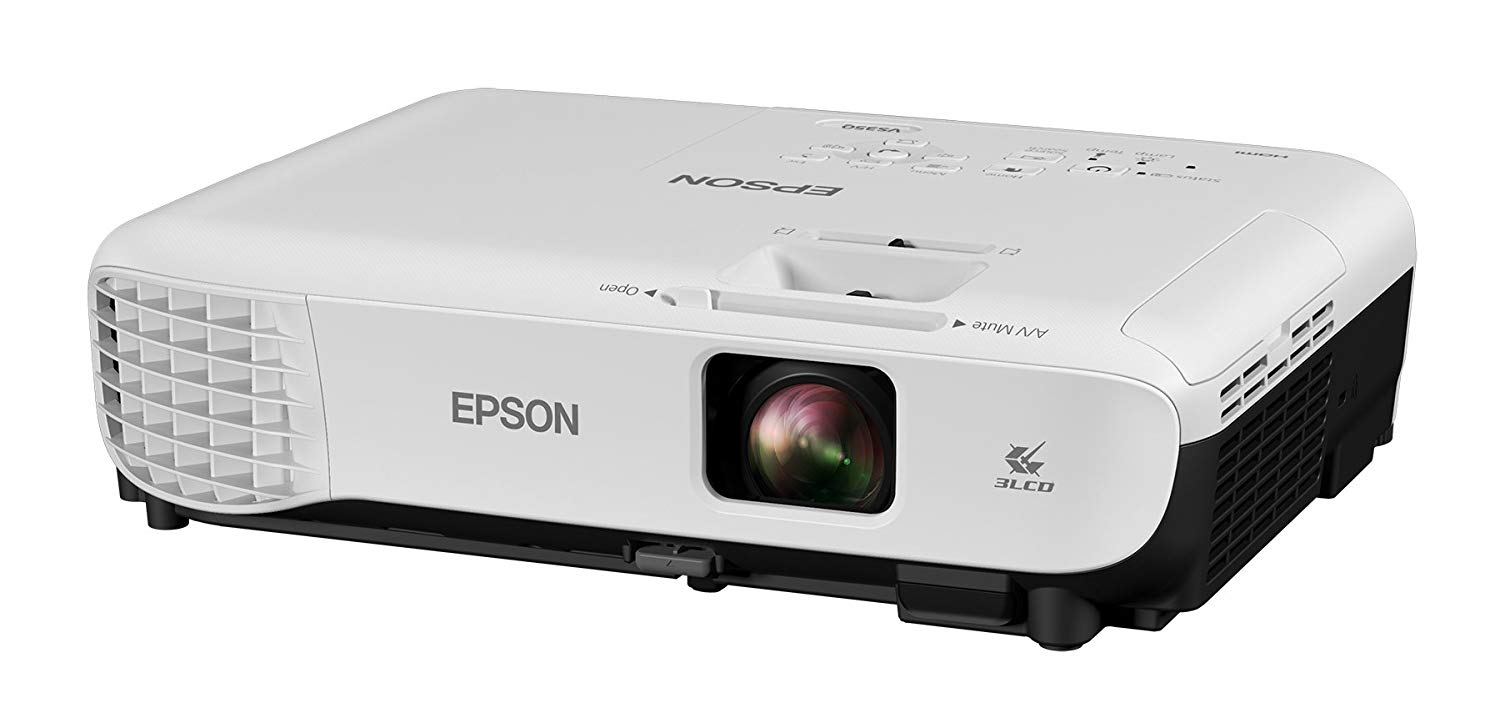 Epson VS350 XGA 3,300 lumens color brightness - Projectors for Conference Room