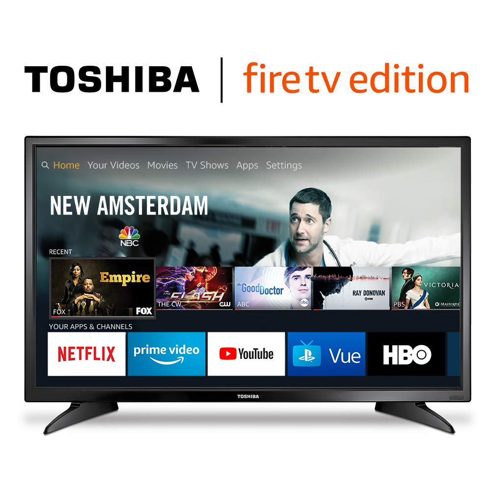 Toshiba 32LF221U19 32-inch 720p HD Smart LED TV | Best Amazon Prime Day