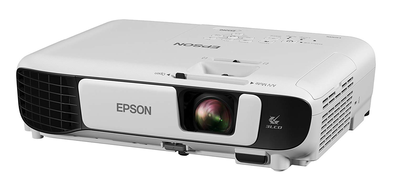 Epson EX5260 XGA 3,600 lumens color brightness (color light output) - Projectors for Conference Room