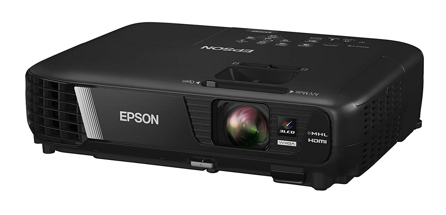 Epson EX7240 Pro WXGA 3LCD Projector Pro Wireless, 3200 Lumens Color Brightness - Projectors for Conference Room
